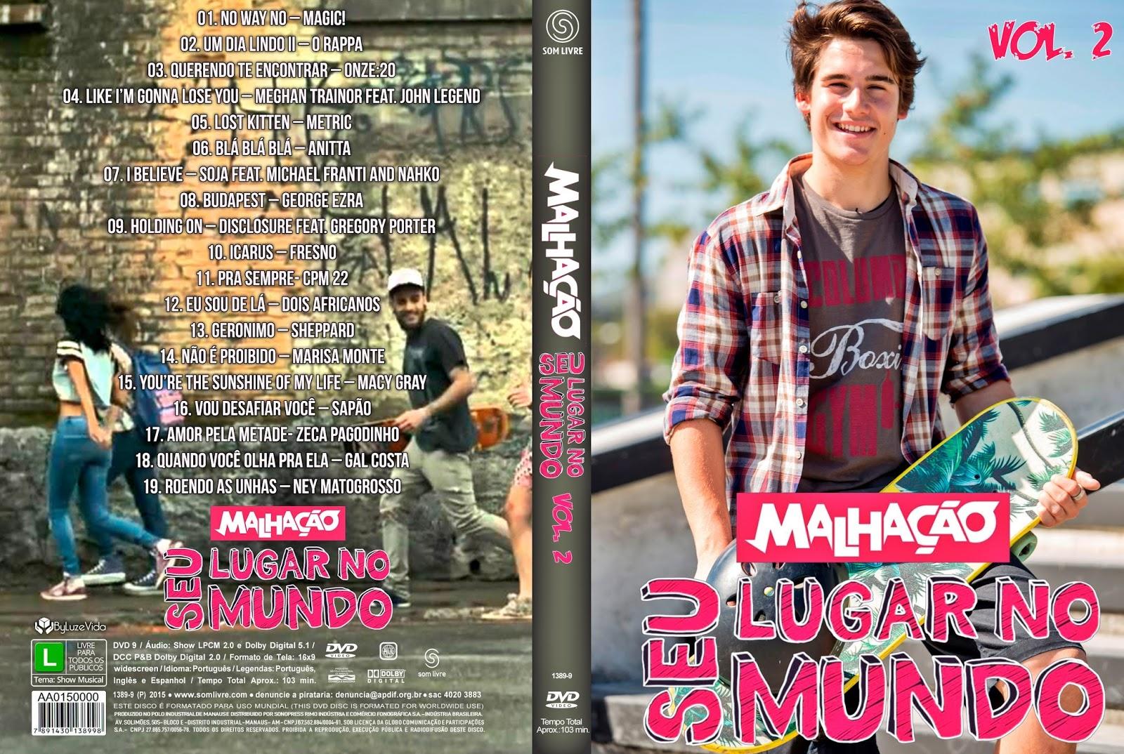 Malhação Seu Lugar No Mundo Vol. 2 DVDRip + DVD-R Malha 25C3 25A7 25C3 25A3o 2BSeu 2BLugar 2BNo 2BMundo 2BVol