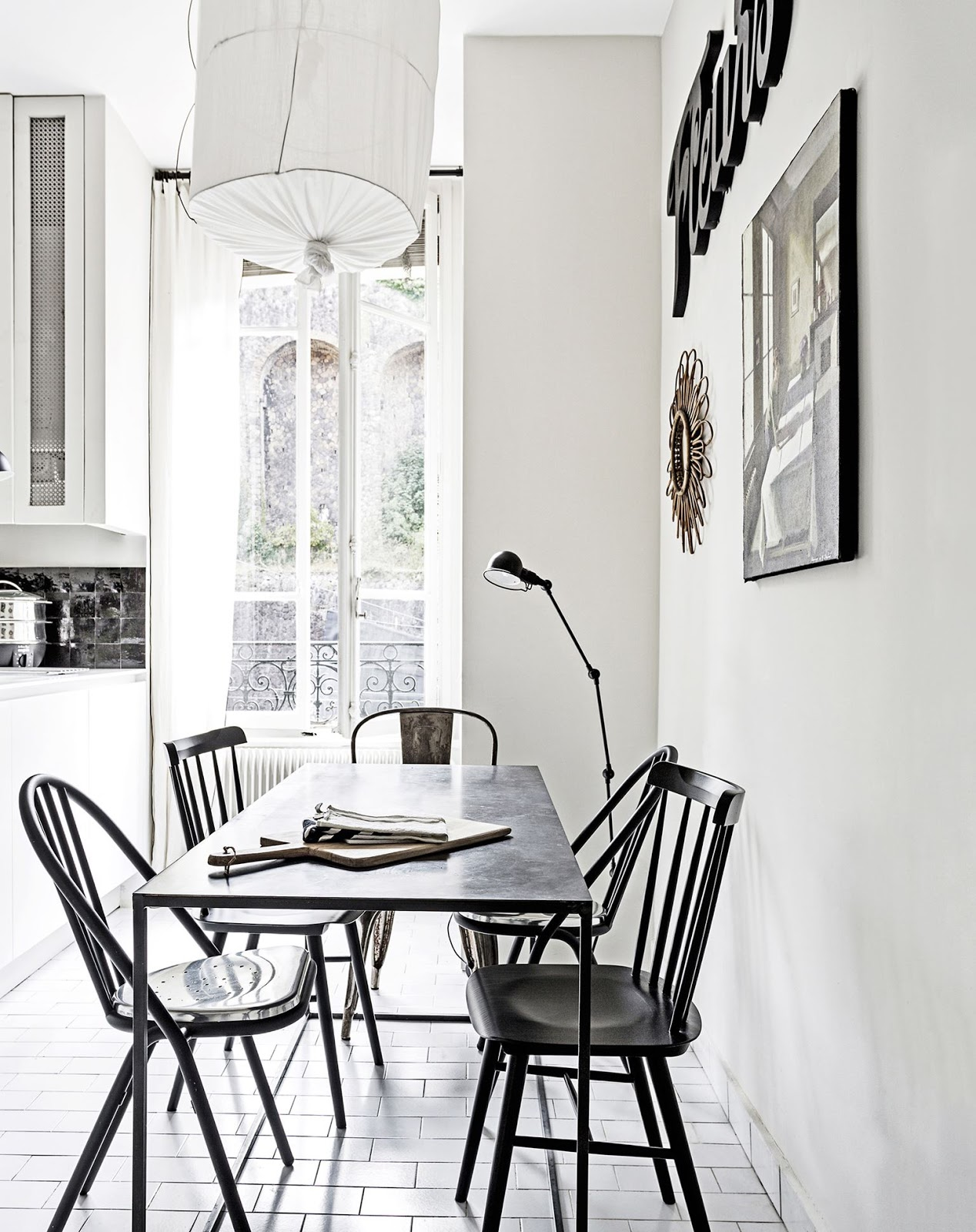 Decor inspiration french style city apartment cool for Apartment fashion