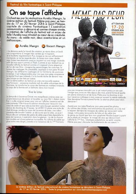 MEME PAS PEUR 2016 dans le magazine ZEN&ZOLIE