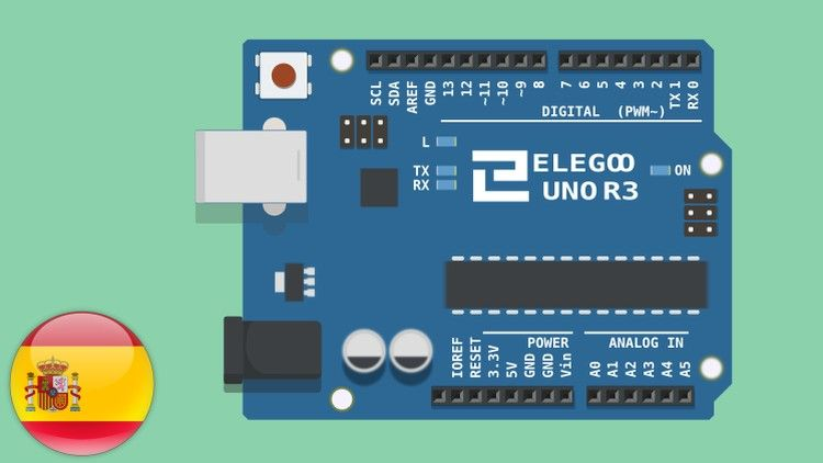 Introducción a Arduino con Elegoo UNO Super Starter Kit (Udemy) MEGA