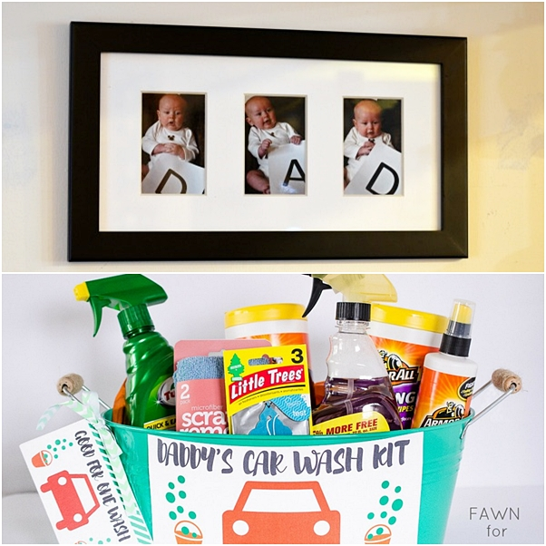 presentes criativos dia dos pais kit de limpeza para carro