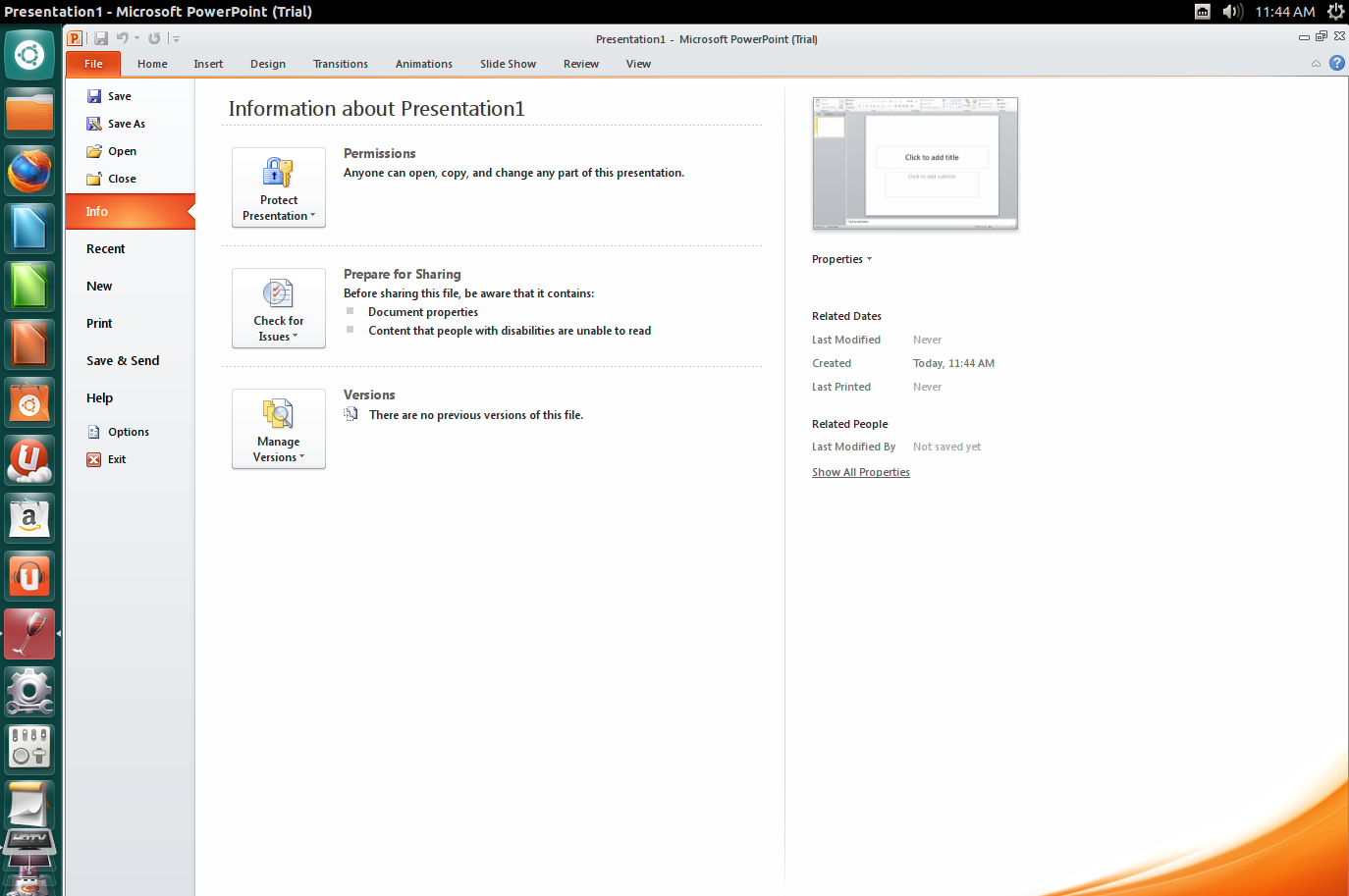 Install Microsoft Office 2010 in Ubuntu 12 10/12 04 and Linux Mint 14/13