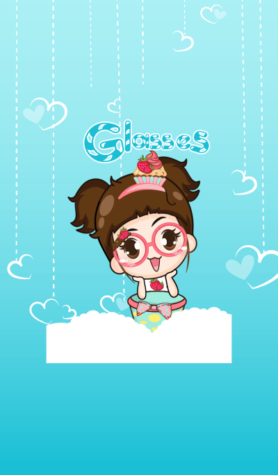 Cupcakes - glasses girl