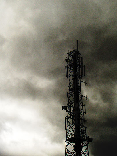 black and white photography, contemporary, industrial, art, Sam Freek, communication, aerial,