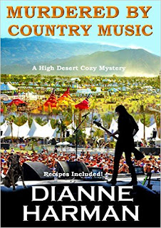 Murdered by Country Music - a cozy romance by Dianne Harman