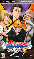 Les jeux vidéos Bleach adaptation manga tite kubo ps3 psp psvita ps2 ds wii game cube sony nintendo j-stars vs jump ultimate stars soul resureccion baston combat action tactique rpg bdocube