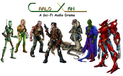 caalo xan the birth of a sci fi audio drama