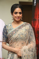 Sri Devi in designer saree stunning beauty at the launch of MOM movie Trailer~  Exclusive 143.JPG