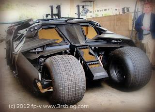 Batmobile Tumbler, from The Dark Knight