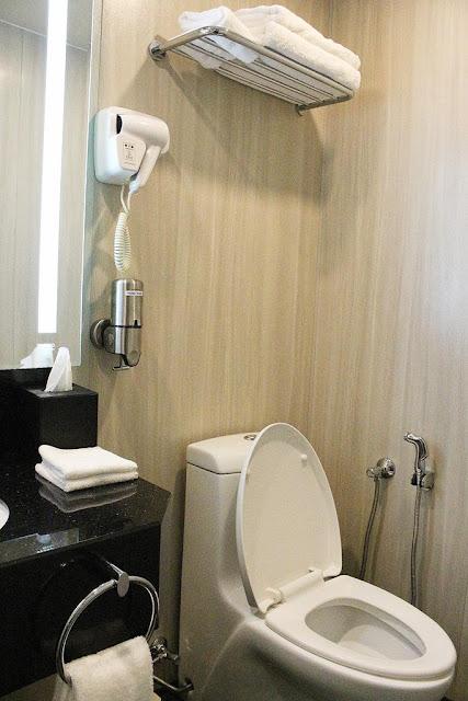 kamar mandi holiday inn express
