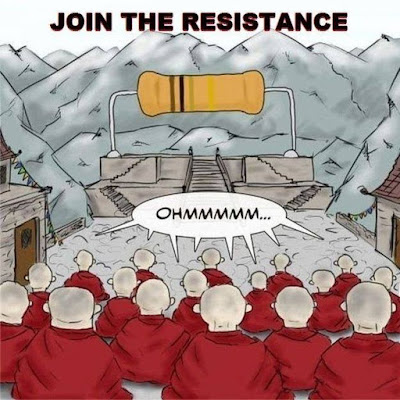 Funny Join The Resistance Cartoon Joke Picture