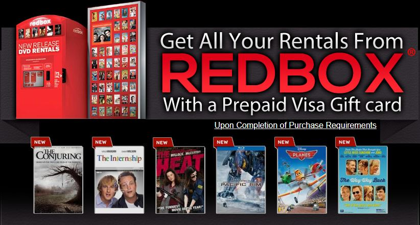 Redbox Prepaid Card