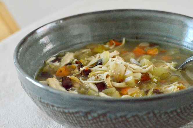 Instant Pot Easy Chicken Soup