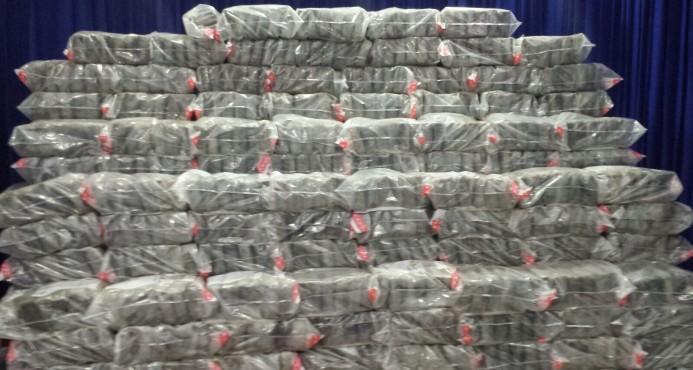 Identifican los cinco detenidos por los 1,104 kilos de cocaína decomisados en El Seibo