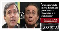 OUTRO OLHAR - Que autoridade moral Renan tem para atacar o Executivo e o Judiciário?