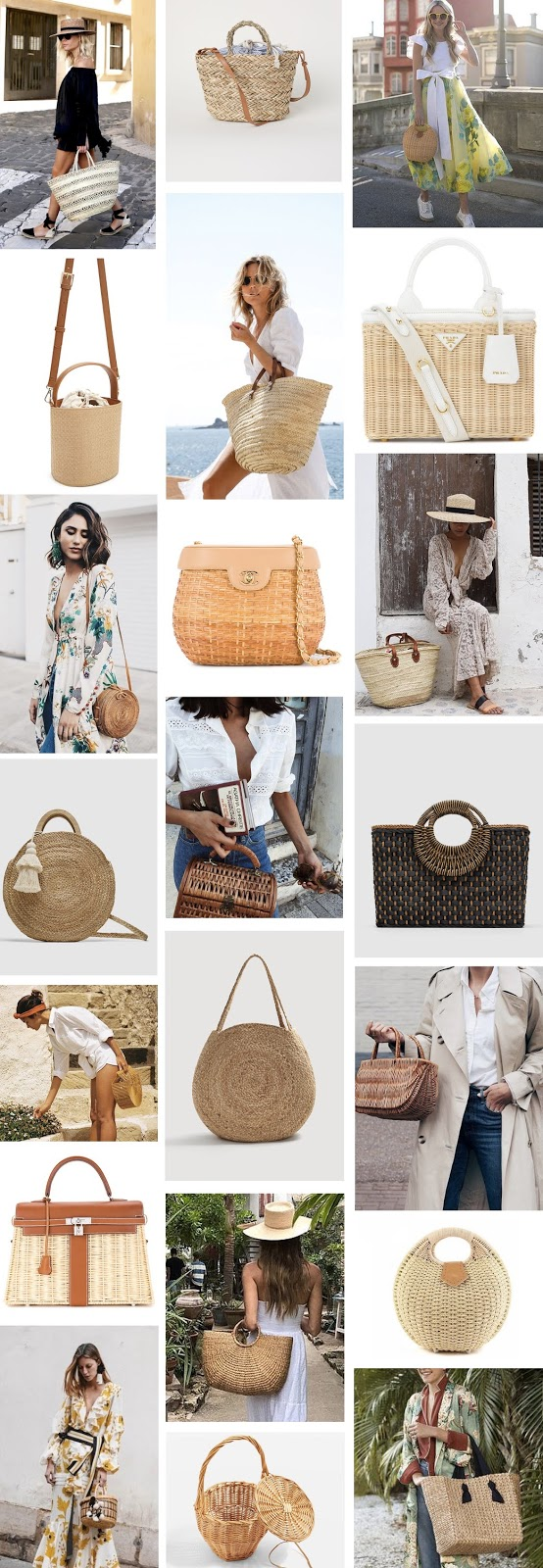straw bags, wicker bag, ark bag, bamboo bag, styling, outfit, curacao