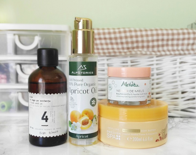 Best Products for Dry Skin (4 Kids and Us, Alpstories, Melvita, Oriflame)