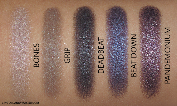 Urban Decay Vice 4 Eyeshadow Palette Swatches