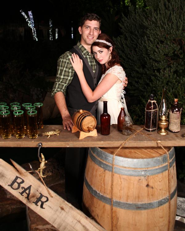bride+groom+peter+pan+themed+neverland+wedding+tinker+bell+fairytale+princess+wendy+darling+captain+hook+fairy+dust+green+rustic+andy+sams+photography+51 - Neverland