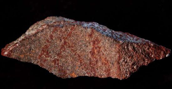 Encontrado desenho mais antigo do mundo em uma caverna na África do Sul - Capa