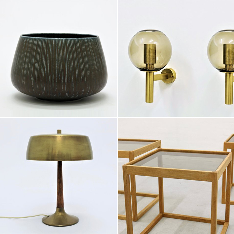 Vintage designer furniture, modern antique furniture, vintage scandinavian furniture, vintage store on Etsy | junoklassik