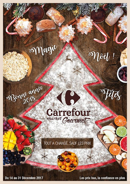 catalogue carrefour gourmet decembre 2017