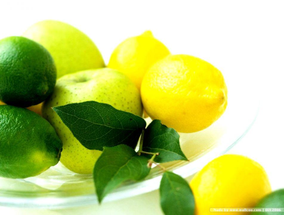 Fruit Lime Green Hd Wallpaper Wallpapers Titan