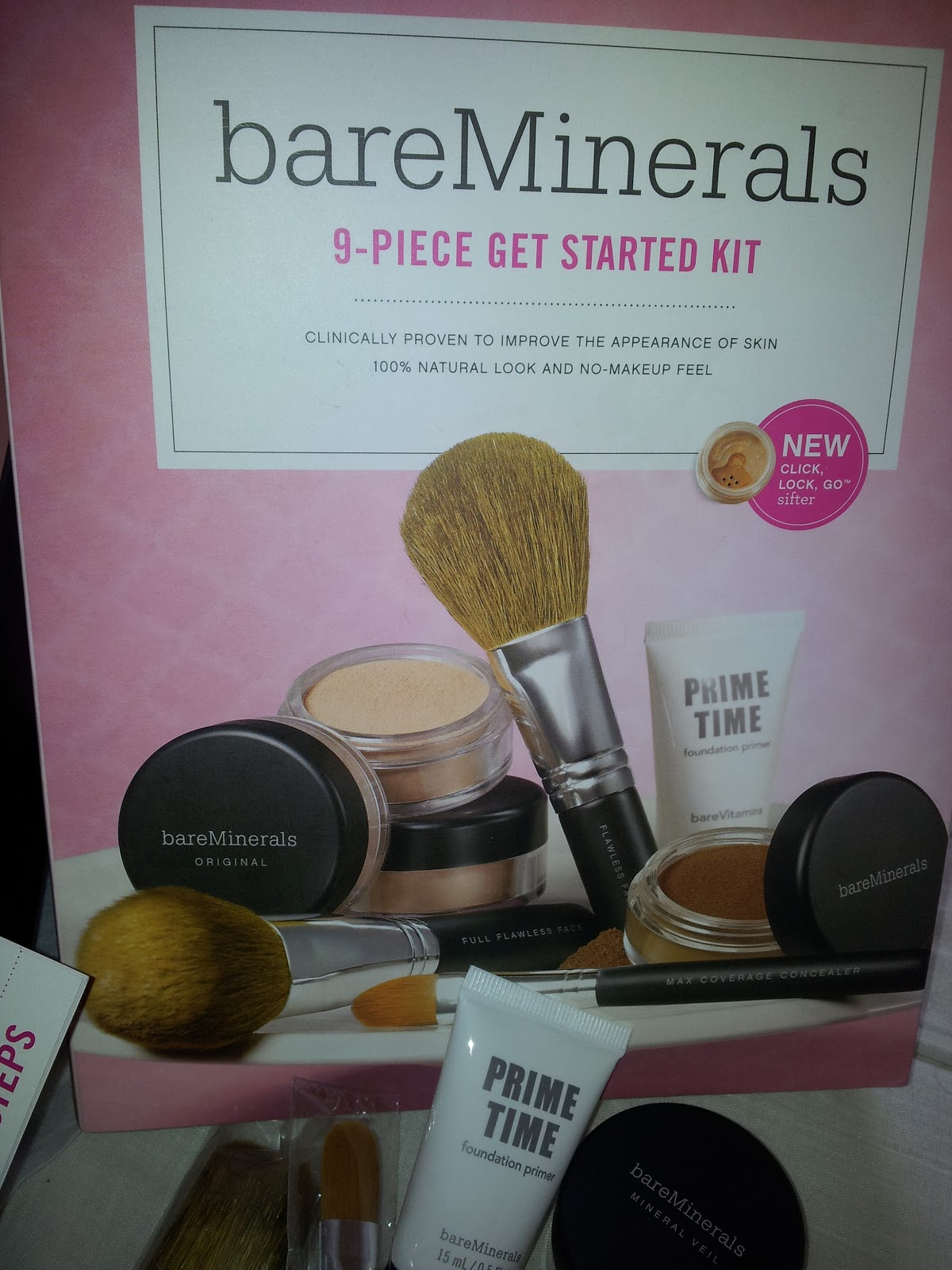 bareminerals get started kit 9 pieces