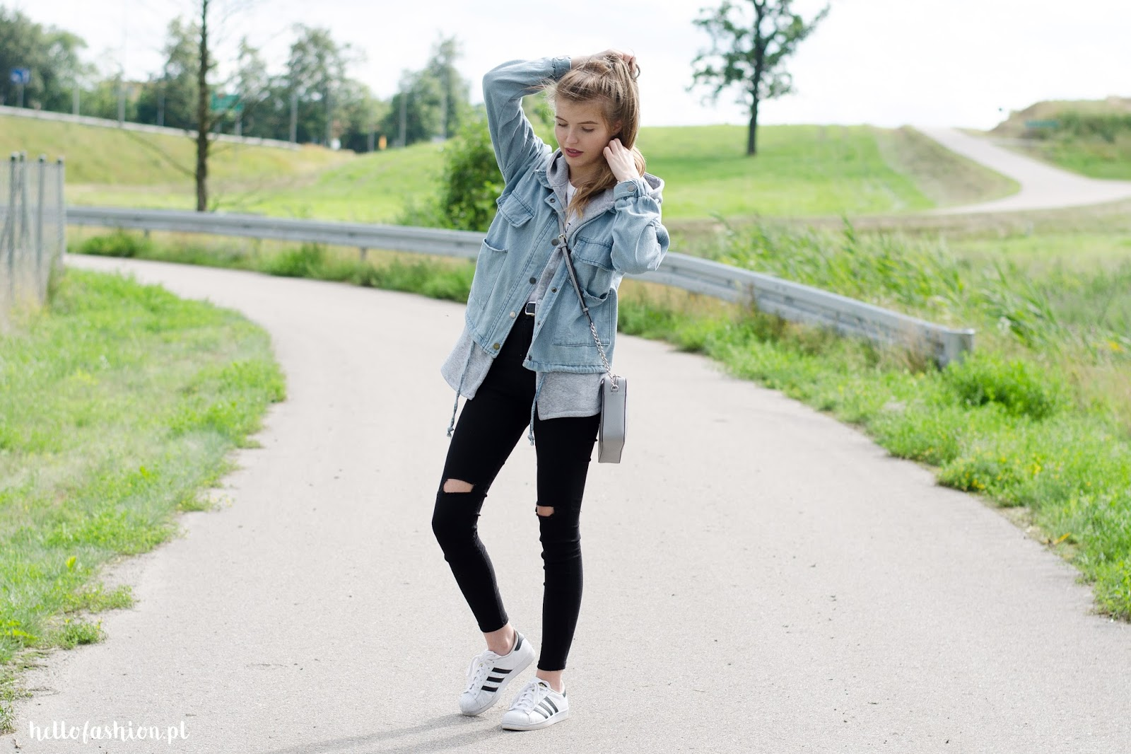 jeans kurtka stylizacja