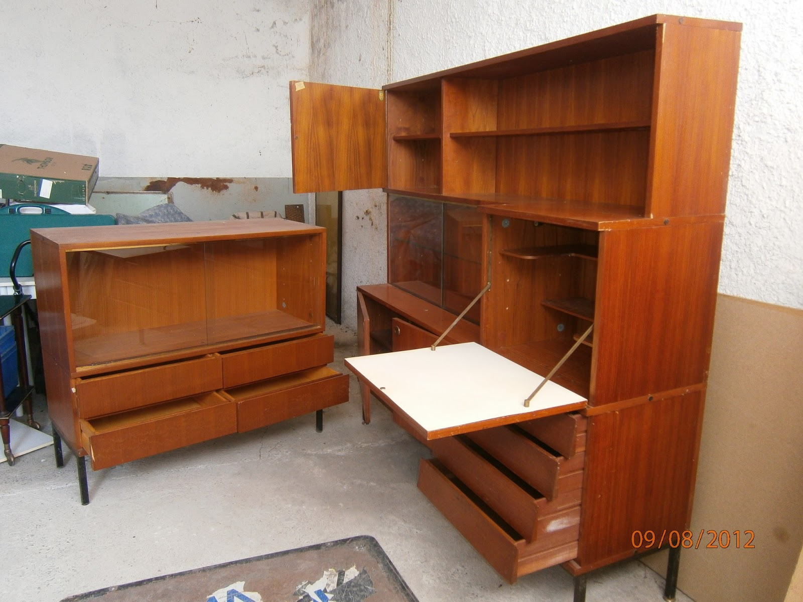 relooking de mes meubles vintage un atelier au fond des bois. Black Bedroom Furniture Sets. Home Design Ideas