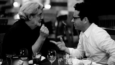 George Lucas and J.J. Abrams