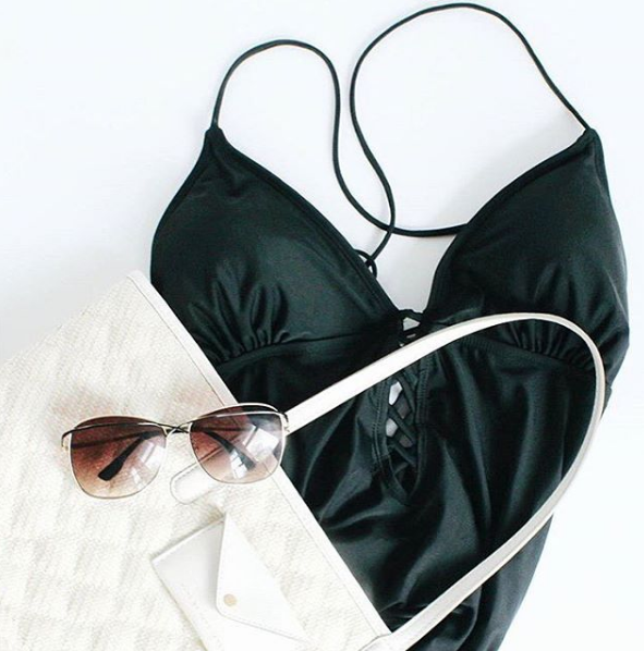 How to Style: One Piece Swimsuits - Andrea Tiffany A Glimpse of Glam