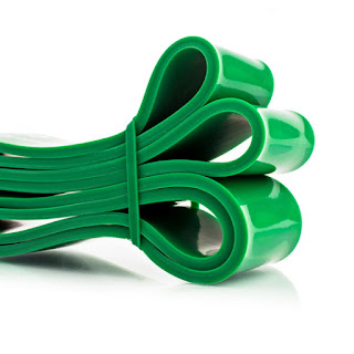 mobility resistance bands green