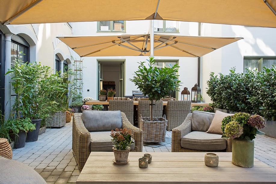 Eccellente recupero industriale blog di arredamento e interni dettagli home decor - Arredare una terrazza con piante ...