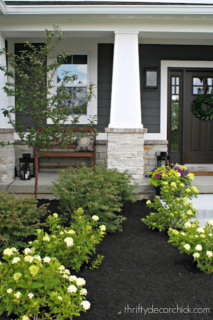 Craftsman front porch style