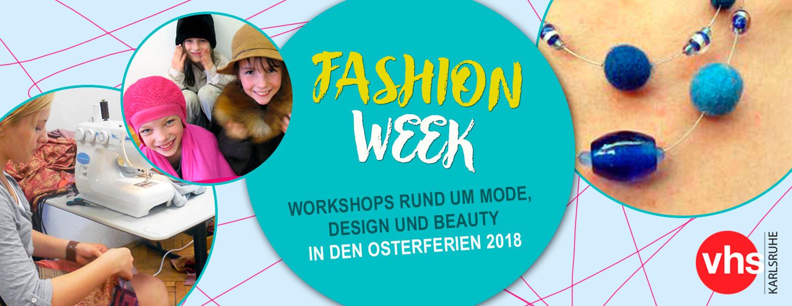 Eine Idee für die Osterferien: Spannende Workshops rund um Fashion, Design und Beauty.