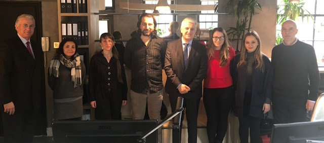 Diaspora Minister visits successful businesses of Albanians in London
