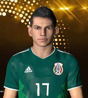 PES 2017 Faces Hirving Lozano by Facemaker Ahmed El Shenawy