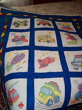 Baby quilt for a great grandchild