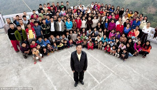 Photos: Meet the world's largest family - with 181 members