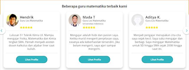 Guru Les Privat ke rumah di Jakarta