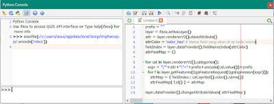 Proses Menjalankan Scipt dengan Python Console