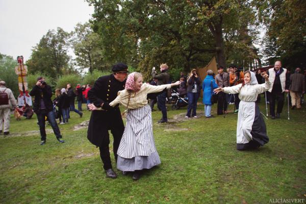 aliciasivert, alicia sivertsson, skansen, skansens höstmarknad, market, autumn, utklädd, utklädnad, länsman, pigor, dressed up, piga