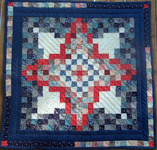 The Quilt Ladies Book quilt pattern by Beth Ann Strub
