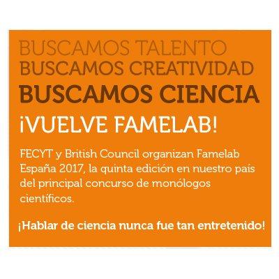 """Comienza el """"casting de científicos"""" para participar en la quinta edición de Famelab España."""