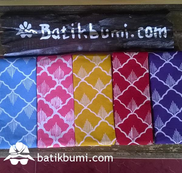 Kain Batik Cap Kelengan motif Sisik
