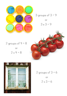 Arrays in Real Life - ideas for teaching arrays with examples of real life arrays and printable array posters plus an art activity to make arrays | you clever monkey