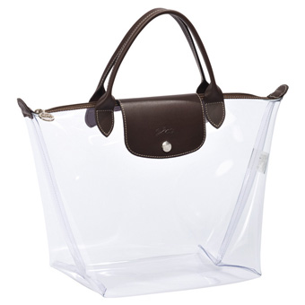 11076e017e94 Cheer For Bags !: Longchamp Darshan Transparent Bag - Limited Edition