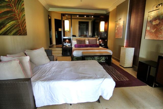 Habitación del Intercontinental Hotel Mauritius Balaclava Resort