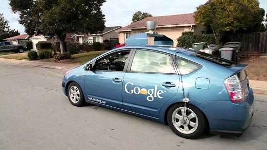 xe tự động lái google